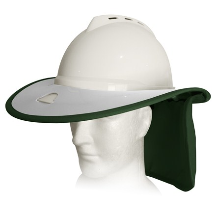 MSA Advance Snap Brim - White / Green